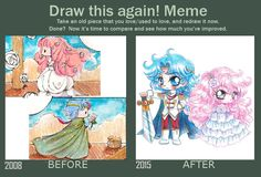 Draw this Again Meme by YamPuff.deviantart.com on @DeviantArt