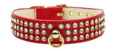 Mirage Pet Products No73 Dog Collar Size 24 Red ** Read more reviews of the product by visiting the link on the image.