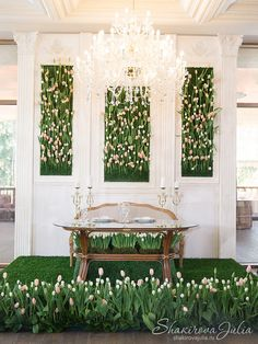 Tulips Wedding by event-designer Julia Shakirova