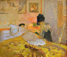 Édouard Vuillard - Madame Hessel y la manicura, 1906