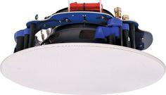 165mm 2x50W 2 Way Round Wi-Fi Ceiling Speaker Pair from Tronixlabs Ausrtralia