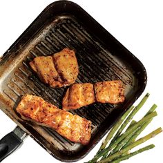 Simple Salmon Recipe: Honey-Mustard Salmon.  Super easy & delicious; tastes like candy!