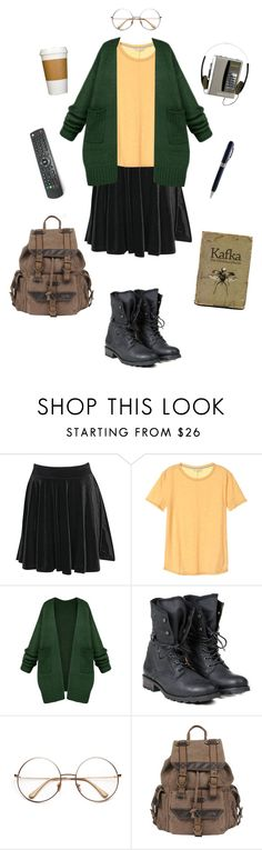 """Daria Morgendorffer-Daria"" by conquistadorofsorts ❤ liked on Polyvore featuring Boohoo, PLDM by Palladium, Wilsons Leather and Visconti"
