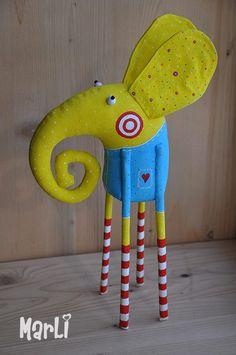 Яркие игрушки. Необычные игрушки ручной работы. Игрушки для украшения дома