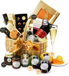 The Sherborne Gift Basket by Regency Hampers - #Chocolate