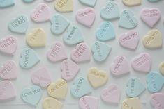 Marzipan Love Hearts #pastel