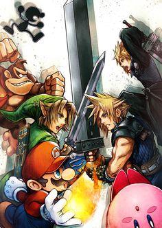 New Smash art (Nomura drawn Link) - NeoGAF