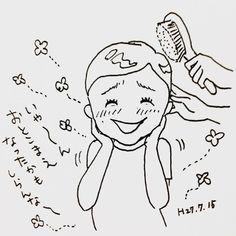 いいね!550件、コメント18件 ― カフカ ヤマモトさん(@cafca_yamamoto)のInstagramアカウント: 「お風呂上がりに髪を七三になでつけてやると、めっちゃ喜ぶ長男。  なんで❓七三すきなの⁉️(´Д` )  あと、くねくねしすぎだよ(´Д` )  #落書き#4歳児#モノクロ#イラスト#七三#絵日記」