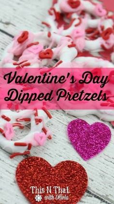 Valentine's Day Dipped Pretzels Can you believe that Valentine's Day is just around the corner? I feel like we were just celebrating the 4th of July! Well,