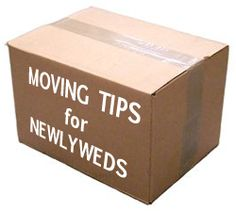 Moving Tips For Newlyweds