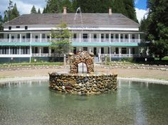 Wawona Hotel, a historic lodge built in 1879 in Yosemite National Park.