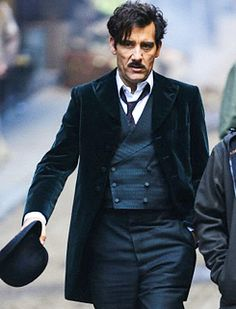 Clive Owen in The Knick.  He's just getting hotter every year!!  This is the only man Jose ever needs to worry about!!  Geez! In total lust with his sexy self!