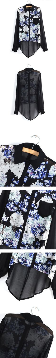 #Udobuy Printing Pocket Slit Shirt$48