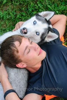 senior session with dog 2013 ©Blue Anchor Photography