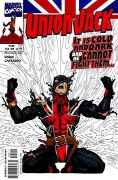union jack marvel comics | Union Jack Vol 1 3 - Marvel Comics Database