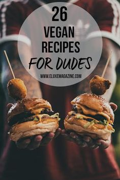 This one is for all the #veganmen out there! Loads of tasty, meaty, filling #veganrecipes that are easy to make, too!