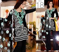 Charizma Swiss Voil Eid Embroidered Lawn Collection 2016