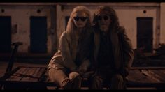 Tilda Swinton y John Hurt en Only lovers left alive
