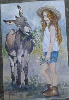 Puzzle 500 pièces-Ballerine peint fille romantique dessin peintures peintes