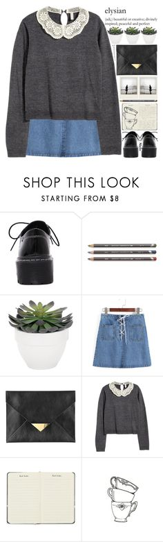 """""""thank you for treating my heart with such kindness"""" by alienbabs ❤ liked on Polyvore featuring Torre & Tagus, BOBBY, H&M, Polaroid, Paul Smith, Fountain, clean, organized and shein"""