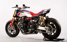 Honda has confirmed that its new TR concept and Africa Twin Enduro Sports concept will be on display at Motorcycle Live – the first time the bikes will have been seen in the UK. Only just unveiled at EICMA in Milan last week, […] Concept Motorcycles, Racing Motorcycles, Custom Motorcycles, Custom Bikes, Vintage Motorcycles, Custom Cafe Racer, Cafe Racer Bikes, Cafe Racers, Honda Motors