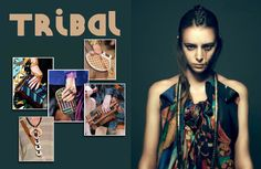Tribal accessories.
