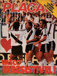 NETVASCO - 06/10/2007 - 16:35 - Capas da <i>Revista Placar</i> contam história do Vasco dos últimos 37 anos