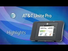 Never be without internet again with the AT&T Unite Pro Mobile Hotspot! #Lifeconnected #NETGEAR