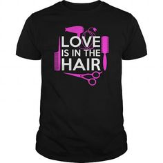 Love Is In The Hair T Shirts, Hoodies. Check price ==► https://www.sunfrog.com/LifeStyle/Love-Is-In-The-Hair-Black-Guys.html?41382