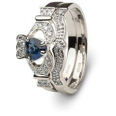 zales claddagh wedding ring