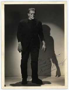"Boris Karloff!!! Best Frankenstein ever!! **Boris Karloff narrates ""How the Grinch Stole Christmas' on T.V., still shown every year**"