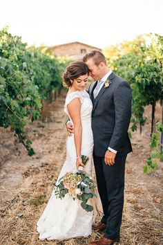 winery vineyard wedding photos @weddingchicks