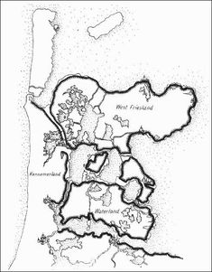 Dijken in Holland in de tijd rond 1550