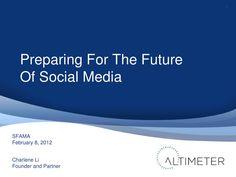 Die Zukunft von Social Media #charleneli