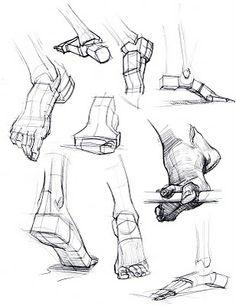 Feet. Michael Hampton