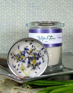 Lavender Fields Candle in Glass Jar