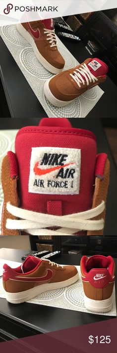Air Force 1 retro limited Size 10.5, no creases, barely worn. 9/10 quality. Comes with original box as well. Nike Shoes Sneakers