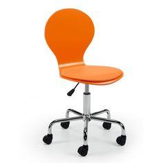 silla oficina jazz naranja   Tiendas On