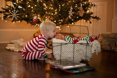 If I ever perfectly time out my next child to have a Christmas birthday, this will happen.