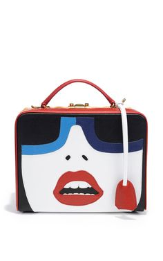 Grace Box Rattan With Face by Mark Cross for Preorder on Moda Operandi
