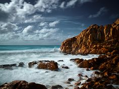 Castle Rock Cape Naturaliste Western Australia by Christian Fletcher. Really it is this beautiful. It is the rare place where it is better than photos.