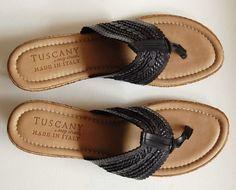 TUSCANY Venice  Wedge Braided Sandals
