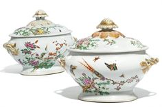 Chinese Famille Rose Tureens