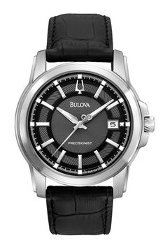 Visit our website: www.hurstdiamonds.com or stop by one of our stores to view this beautiful Bulova Precisionist men's wristwatch.
