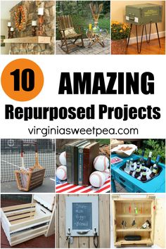 10 Repurposed Project Ideas - Discover ways to creatively repurpose items into useful home decor. #repurpose #DIY #repurposedprojects #upcycle #upcycledprojects via @spaula Milk And Eggs, Project Ideas, Projects, Repurposed, Upcycle, Diy, Home Decor, Log Projects, Decoration Home