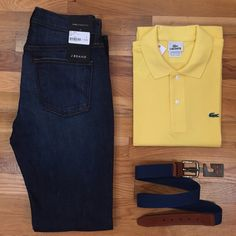 Here you go guys..This outfit is sure to get you through the week! #sohoclothiers #jbrand #lacoste #menswear @sohoclothiers