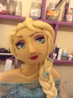 Elsa Frozen Creaciones Dulcemocion Chile.