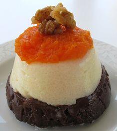 Tri-Color Semonlina Pudding / Uc Renkli Irmik Tatlisi - Powered by Semolina Pudding, Tasty, Yummy Food, Cheesecake, Desserts, Recipes, Color, Europe, Kitchens