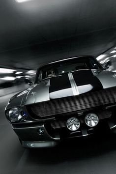 Old Ford Shelby GT500 Mobile Wallpaper