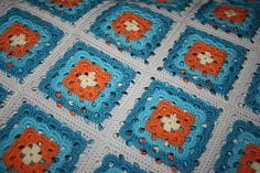 beautiful yarnclouds square..  Ravelry: ElinElla's Cloud Square blanket